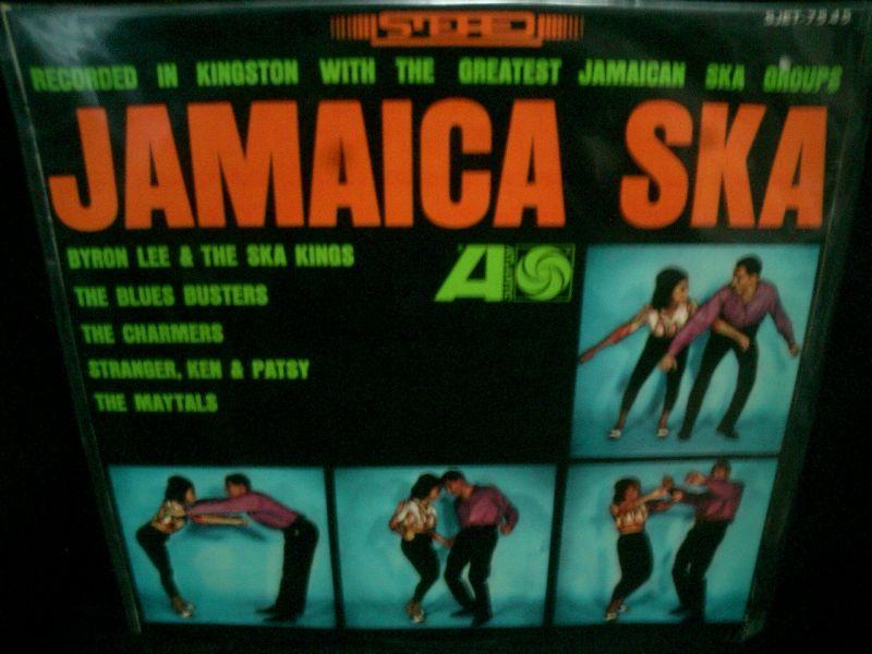 """""""ジャマイカ・スカ""""/貴重1964年日本盤★V.A.-『JAMAICA ...   """"ジャマイカ"""