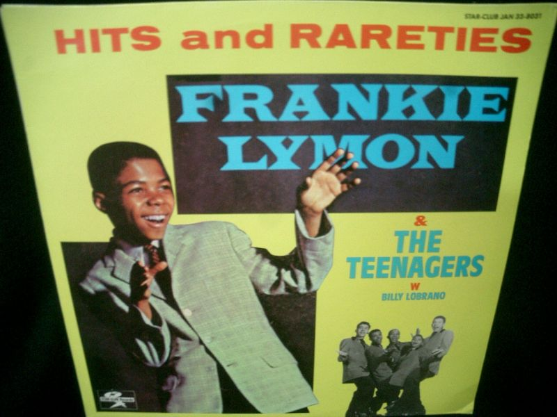 フランキー・ライモンSWEDEN廃盤☆FRANKIE LYMON & THE TEENAGERS ...