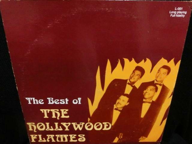 ハリウッド・フレイムスUS廃盤☆『THE BEST OF THE HOLLYWOOD FLAMES ...